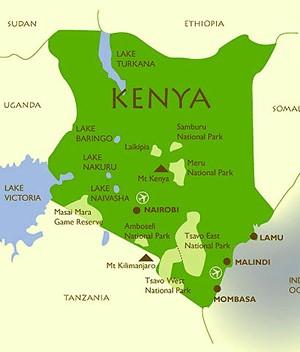 kapiti plain africa map